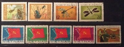World Stamps Vietnam 3 Lines Stamps Fine CTO Stamps (B4-187)