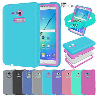 premium selection a5563 1974a SHOCKPROOF RUBBER CASE Hybrid Hard Case Cover For Samsung Galaxy Tab E 8.0