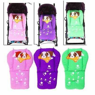 Soft Thick Warm Cotton Cart Liner Stroller Pad Baby Pushchair Mat Seat Cushion