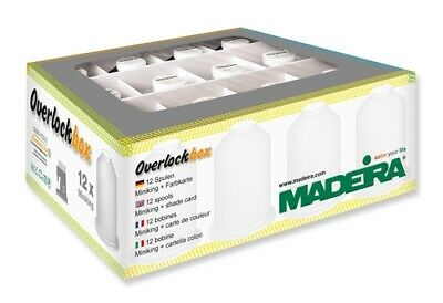 Madeira Overlockbox 3+1 Black & White
