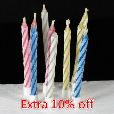 100X Magic Relighting Candle Relight Birthday Party Fun Trick Cake Joke Gift CS