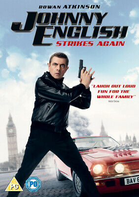 Johnny English Strikes Again DVD (2019) Rowan Atkinson ***NEW***