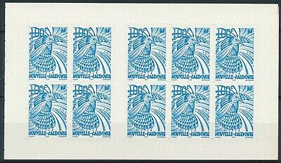 [H15789] Nouvelle Caledonie 2001 BIRD Good complete ADHESIVE booklet very fine