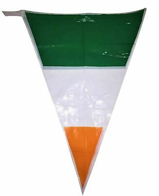 24ft St Patricks Day Triangle Shape Bunting Irish Party Decoration Bunting Flag