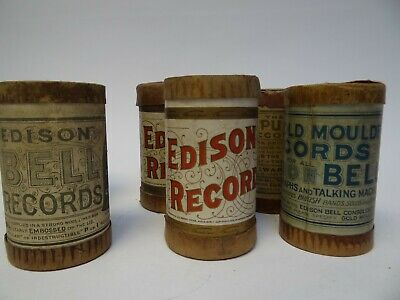 A Selection of Six Edison Bell Phonograph Records (g)