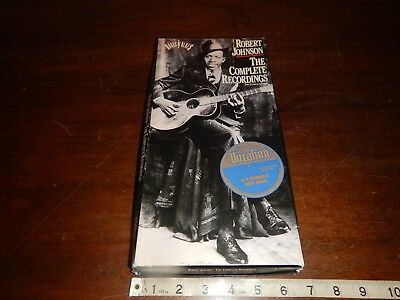 "Robert Johnson ""The Complete Recordings"" two disc cd's Columbia C2K 46222"
