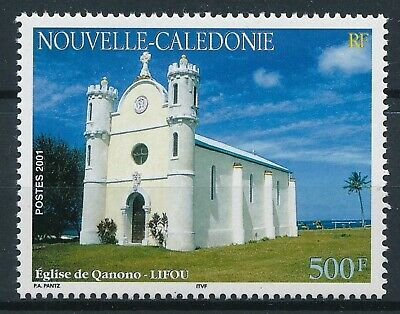 [H17046] Nouvelle Caledonie 2001 CHURCH Good stamp very fine MNH