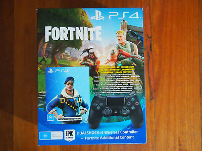 PS4 DUALSHOCK®4 Wireless Controller - Fortnite Bonus Content Bundle+ 5% OFF