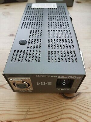 IDX IA60a power supply for camcorders etc