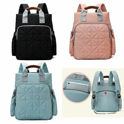 Baby Nappy Changing Bag Multiuse Large Rucksack School Travel Backpack Bag