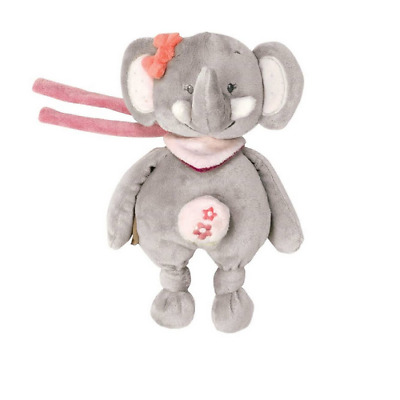 Brand new Nattou Adele and Valentine mini musical toy in Adele the elephant