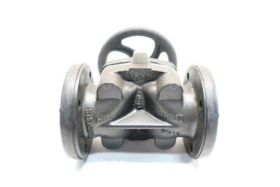 Saunders 3448 Xomox Manual 150 Iron Flanged 3in Diaphragm Valve