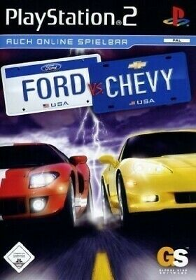 PS2 / Sony Playstation 2 Spiel - Ford vs. Chevy mit OVP