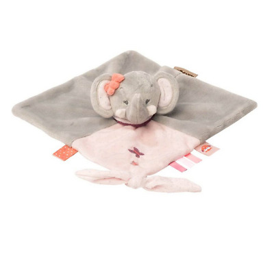 Brand new Nattou Adele and Valentine doudou in Adele the elephant from birth