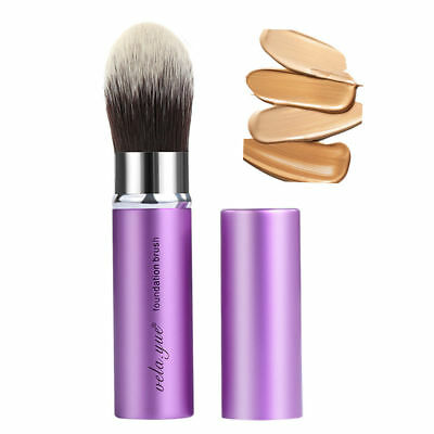 Retractable Kabuki Brush Pointed Foundation Brush Face Cosmetics Makeup Tool