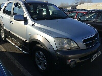 04 Kia Sorento 2.5 Crdi Xs - 2F/owners, 5 Stamps, Leather, Sunroof, 109K Miles