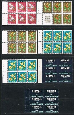 New Zealand 1967 booklet separated  panes. FREE POSTAGE