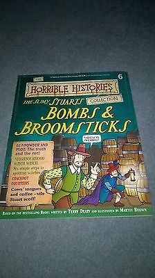 NOS new Horrible Histories mag 6 Bombs & Broomsticks no cards school homework