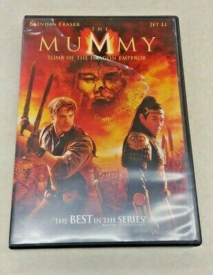 The Mummy: Tomb of the Dragon Emperor (Full Screen) - 2008 - DVD