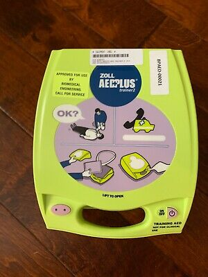 zoll aed plus trainer 2 with remote