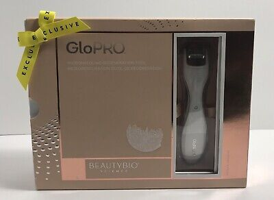 Beautybio GloPRO Microneedling Regeneration Tool with FACE & BODY MicroTip