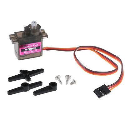 1pcs MG90S micro metal gear 9g servo for RC plane helicopter boat car 4.8V 6V FM
