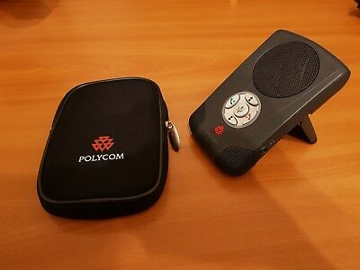 Polycom Communicator CX100 USB Speakerphone / Conference phone and Case