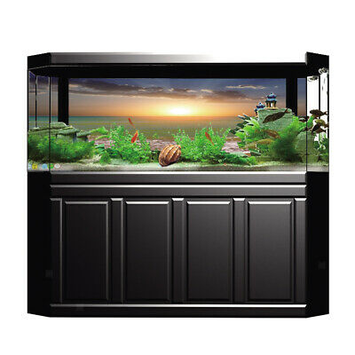 Aquarium, Fish Tank Background Poster Beach Decorative Wallpaper 61x41cm