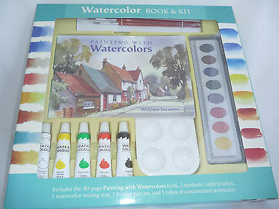 Mud Puddle Books WATERCOLOR BOOK AND KIT!! NEW!! SEALED!!