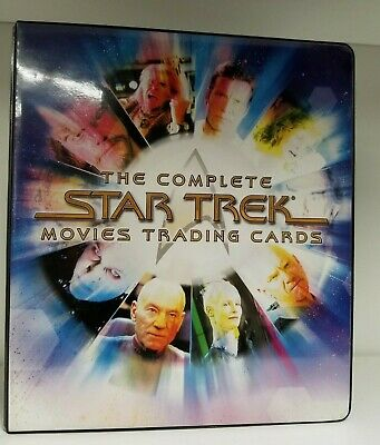 Star Trek The Complete Movies Trading Card Binder With Promo Autographed Ferrer