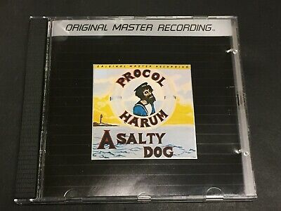 PROCOL HARUM A Salty Dog MOBILE FIDELITY CD MoFi ORIGINAL MASTER RECORDING