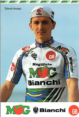 Cyclisme-Wielrennen-Ciclismo - 1 Carte - Andrei Tchmil - Gb - Mg