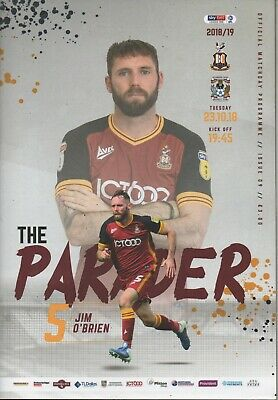 18/19 Bradford City v Coventry City