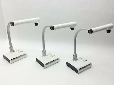Lot 3 Elmo Tt-02S Digital Document Visual Presenter Camera Projector Usb Ntsc