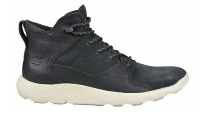 Details about Timberland Flyroam Leather Men's Boots Black A1J1A New 2017