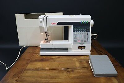 Elna Club Computer Electronic Electric Sewing Machine Working Global Shipping