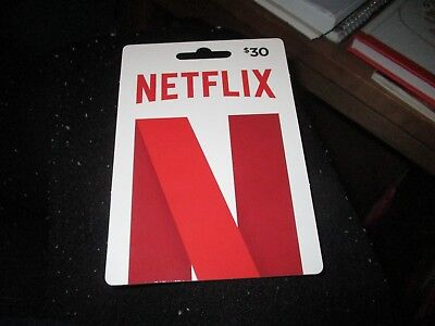 $30 Netflix Gift Card - US Only