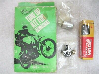 New ND NDTK-306 Tune-Up Kit Kawasaki F6 F6A F6B with ignition points & condenser