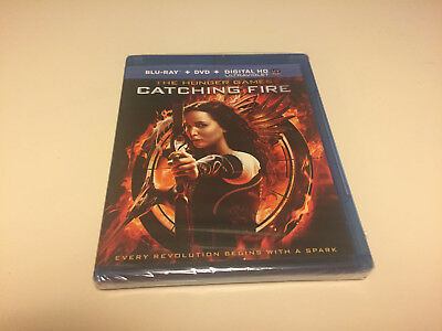 The Hunger Games Catching Fire*blu-Ray Disc Movie*factory Sealed**brand New