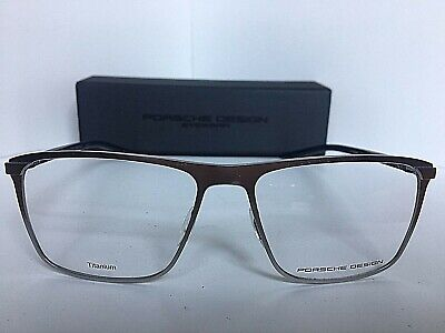 a18edd4e250c New PORSCHE DESIGN P 8286 D 56mm Titanium Silver Eyeglasses Men s Frame  Japan