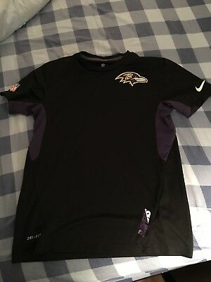 fd5100add NIKE BALTIMORE RAVENS Dri-Fit Shirt Mens Medium -  0.99