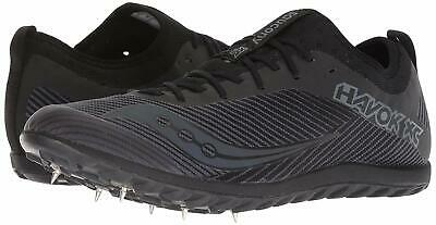 SAUCONY Men's Havok XC2 Cross Country Track Spike Shoe Black on Black $85