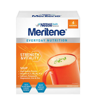 Meritene Energis Chicken Soup 6 Packs of 50g x 10