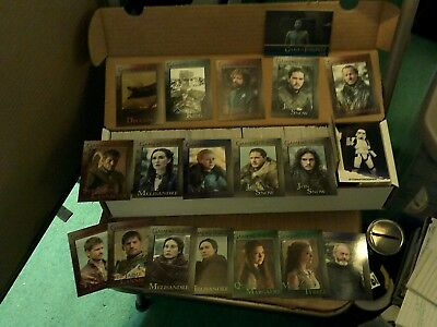 Game of Thrones / Solo cards Lot - Jon Snow / Night King / Tyrion Lannister