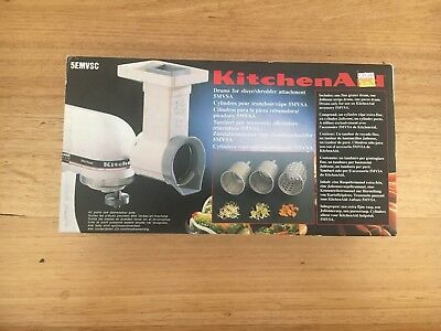 KitchenAid drums for shredder attachment, NEW 5MVSA