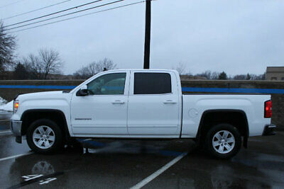 2014 GMC Sierra 1500 SLE LE Low Miles 4 dr Automatic 5.3L 8 Cyl Summit White