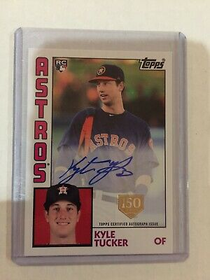 2019 Topps Series 1 Kyle Tucker Auto 150th W 2018 Bowmans Best & 2019 Topps RC