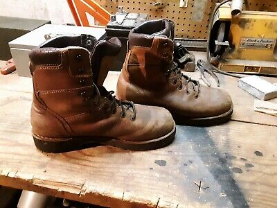 f667b8f3808 MENS DANNER WORKMAN GTX 8 inch leather work boots size 10