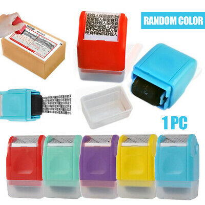 Identity Theft Protection Roller Stamp Guard ID Privacy Confidential Data Home