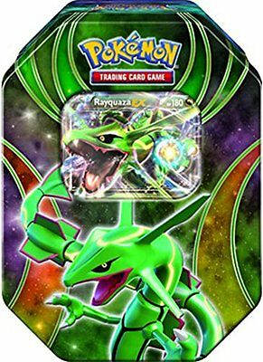 Pokemon Rayquaza EX Power Beyond Fall Collector Tin 2015 Factory Sealed